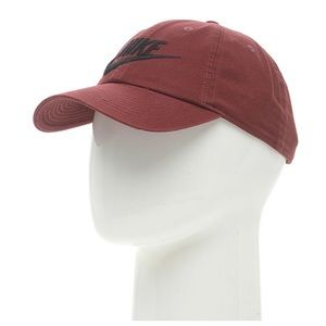 4544fdf79b7 Nike Accessories - Nike Washed Burgundy Dad Hat